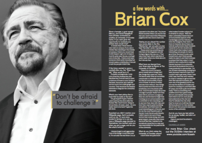 A Few Words With Brian Cox