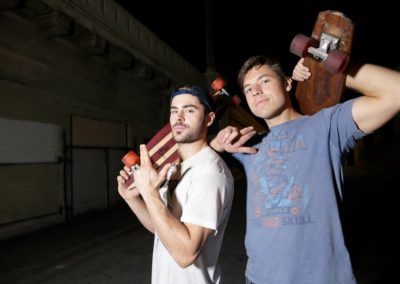 Zac Efron's Central Coast-themed skateboards to debut in SLO